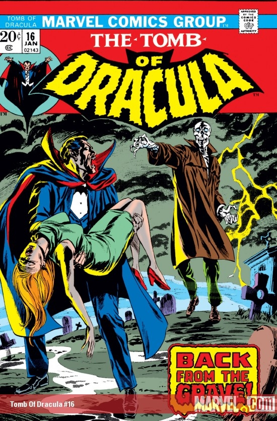 Tomb of Dracula (1972) #16