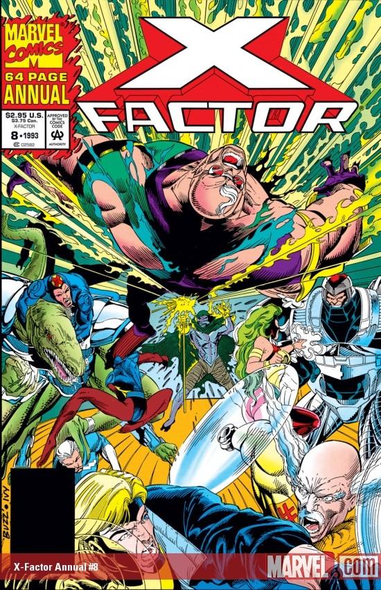X-Factor Annual (1986) #8