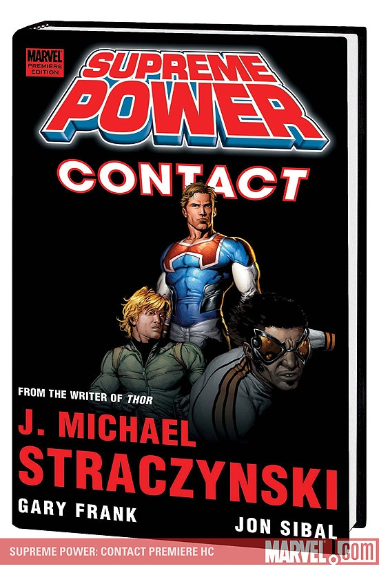 Supreme Power: Contact Premiere (Hardcover)