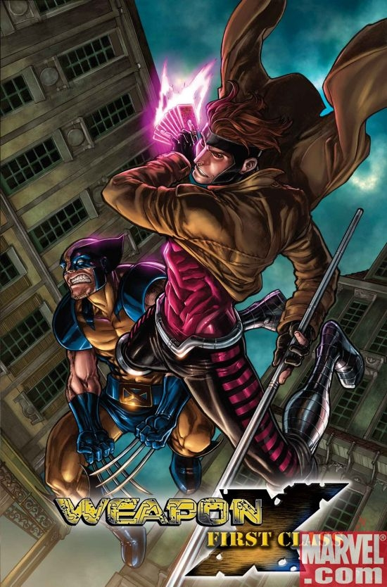 Weapon X: First Class (Gambit) (2008) #1