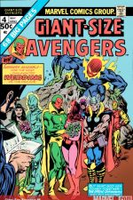 Giant-Size Avengers (1974) #4 cover