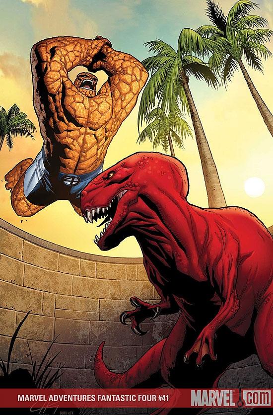 Marvel Adventures Fantastic Four (2005) #41