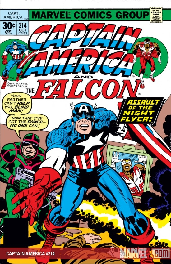 Captain America (1968) #214