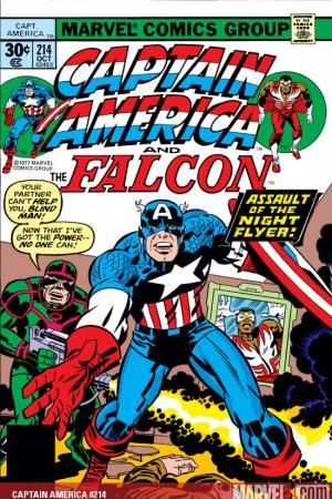 Captain America #214
