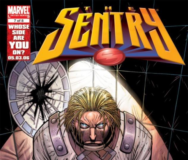 SENTRY (2007) #7 COVER