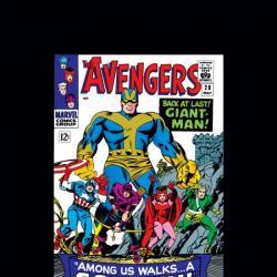 AVENGERS #28 COVER