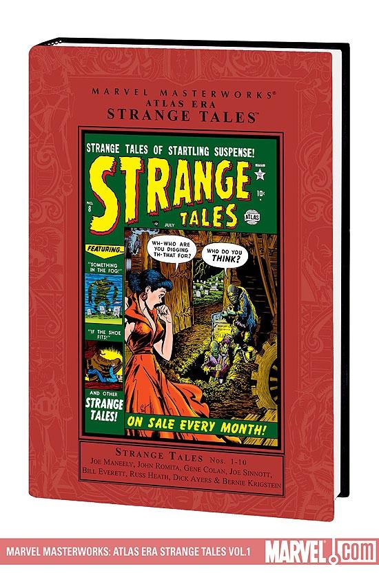 Marvel Masterworks: Atlas Era Strange Tales Vol. 1 (Hardcover)
