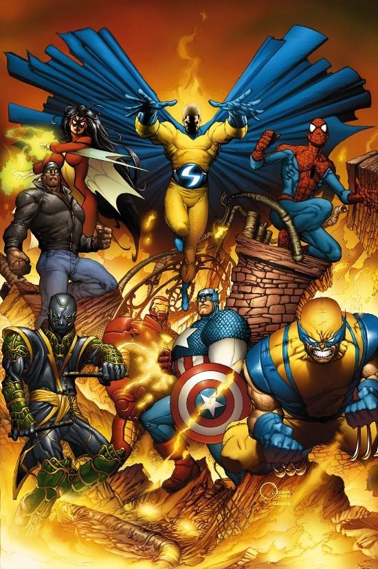 New Avengers (2004) #1 (JOE QUESADA VARIANT)