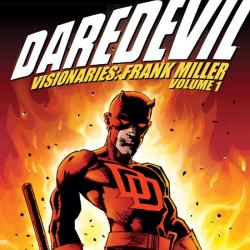 DAREDEVIL VISIONARIES: FRANK MILLER VOL. I TPB COVER