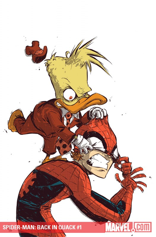 Spider-Man: Back in Quack (2010) #1