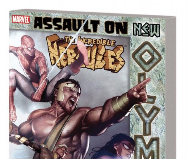 Incredible Hercules: Assault on New Olympus (Trade Paperback)