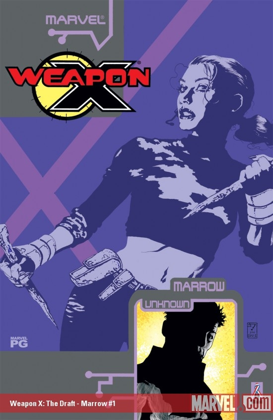WEAPON X: THE DRAFT - MARROW 1 (2002) #1
