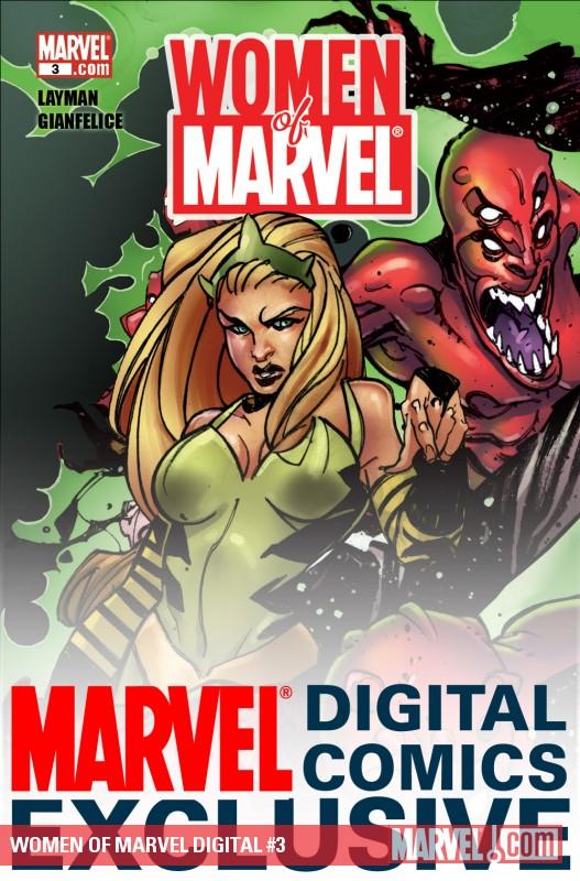 Women of Marvel: Medusa (2010) #1