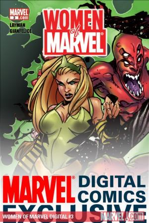 WOMEN OF MARVEL: MEDUSA DIGITAL COMIC #3