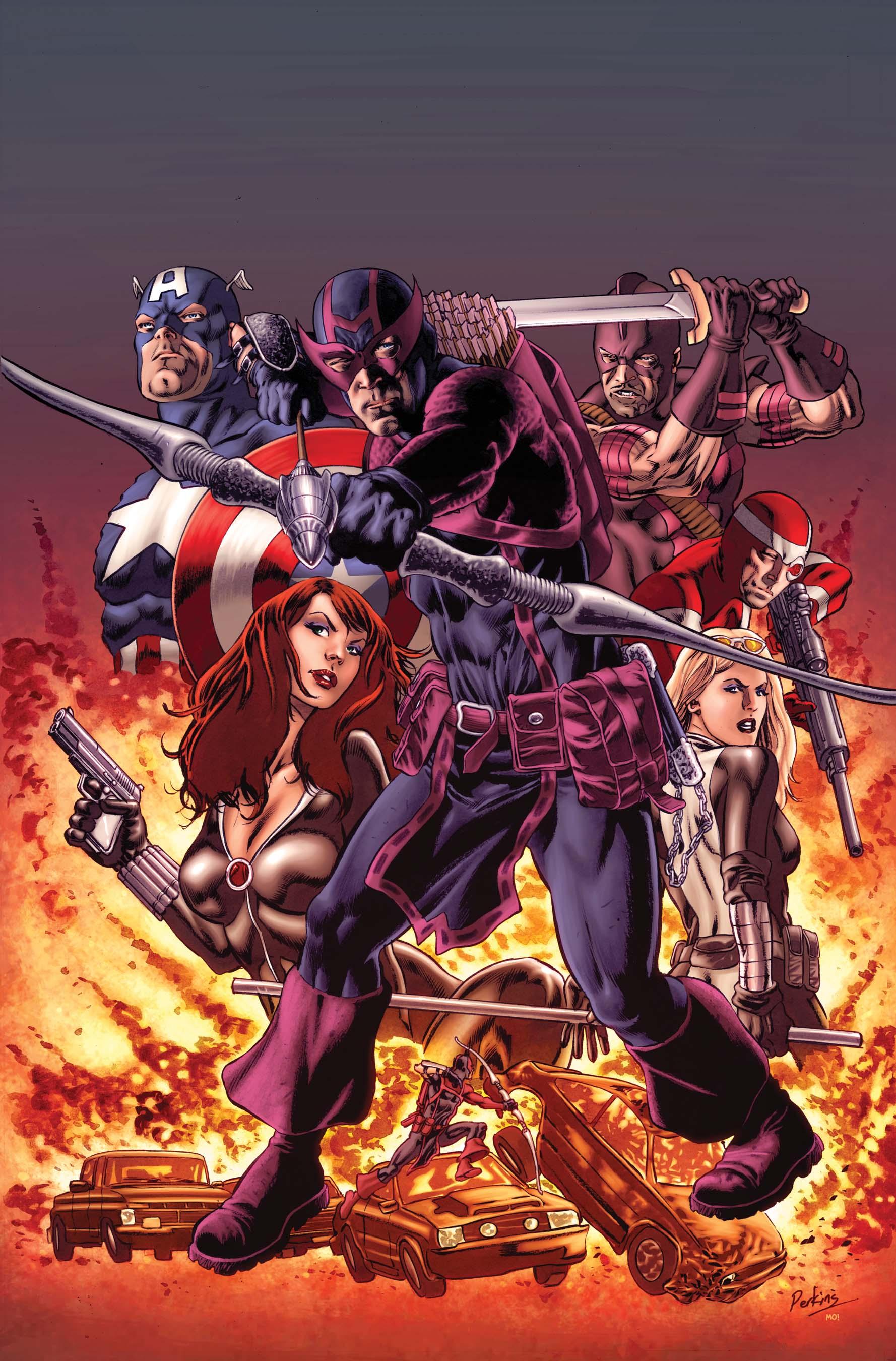 Hawkeye: Blind Spot (2011) #1