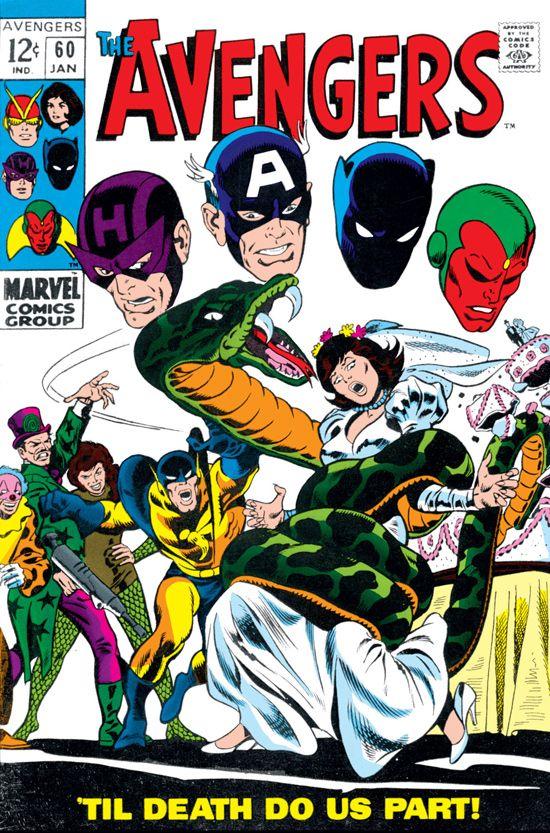 Avengers (1963) #60