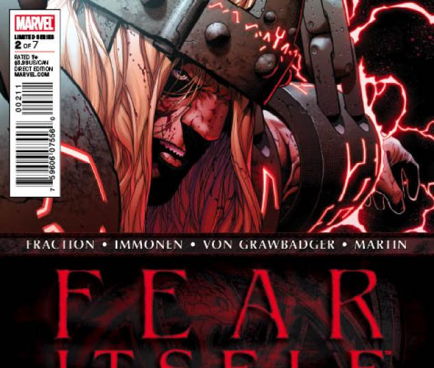 Fear Itself #2 second printing variant cover by Steve McNiven