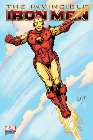 Invincible Iron Man (2008) #25 (TRIMPE VARIANT)