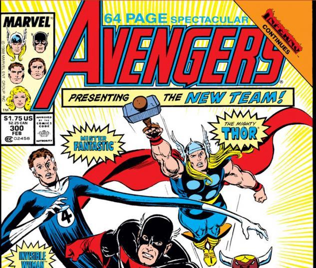 Avengers (1963) #300 Cover