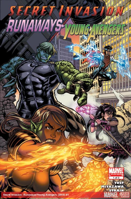 Secret Invasion: Runaways/Young Avengers (2008) #1