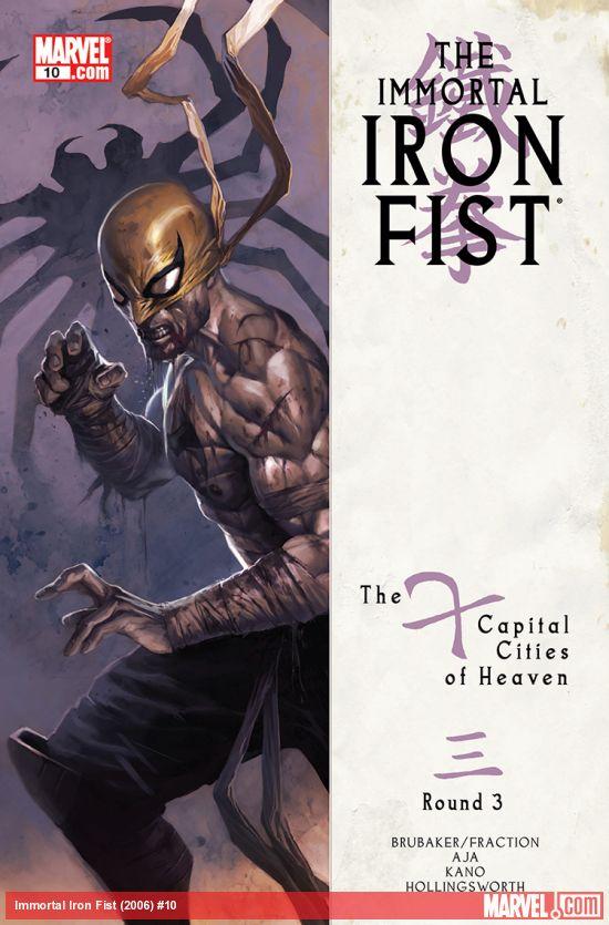 Immortal Iron Fist (2006) #10