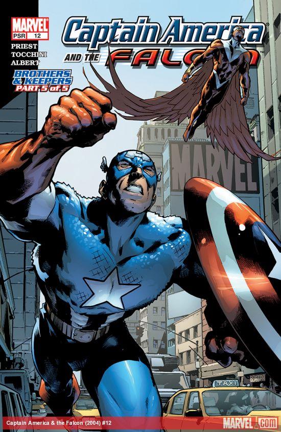 Captain America & the Falcon (2004) #12