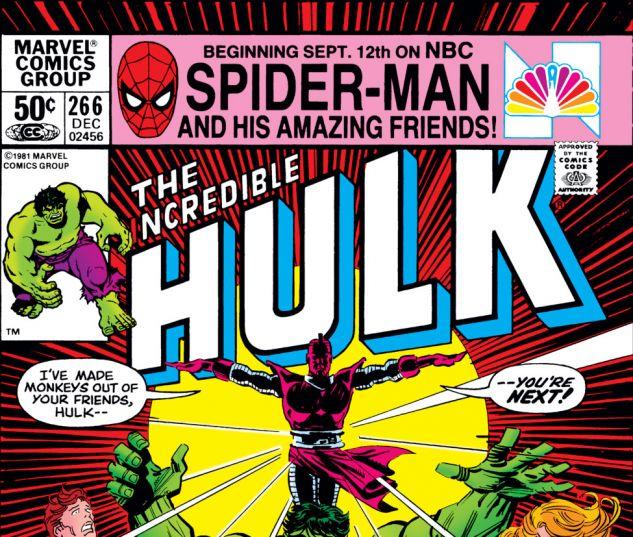 Incredible Hulk (1962) #266 Cover