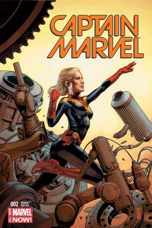 Captain Marvel (2014) #2 (Jones Variant)