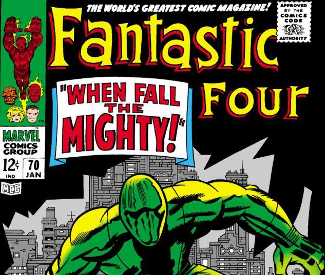 Fantastic Four (1961) #70 Cover