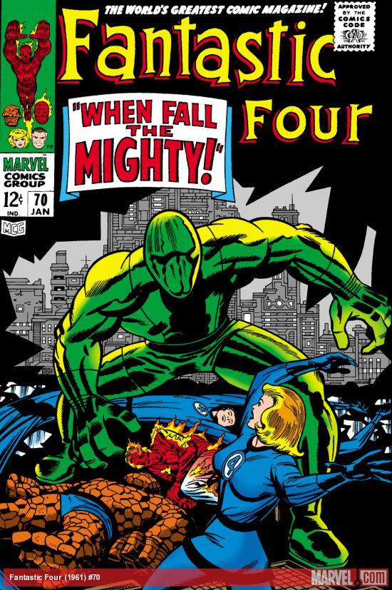 Fantastic Four (1961) #70