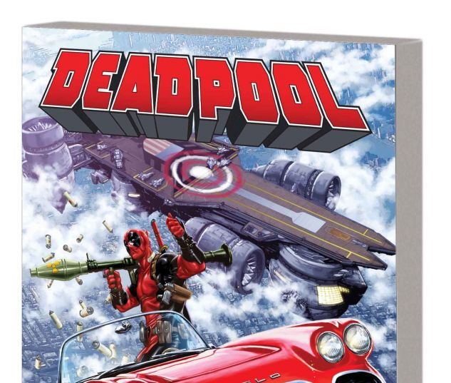 DEADPOOL VOL. 4: DEADPOOL VS. S.H.I.E.L.D. TPB (MARVEL NOW)