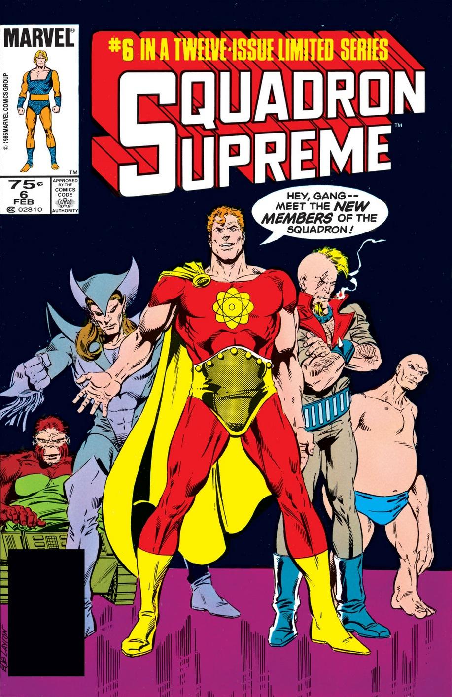 Squadron Supreme (1985) #6