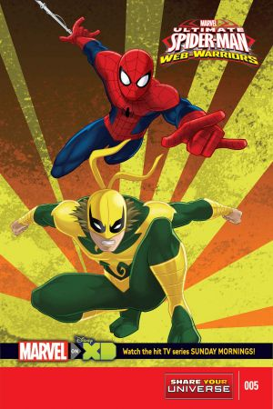 MARVEL UNIVERSE ULTIMATE SPIDER-MAN: WEB WARRIORS (2014) #5