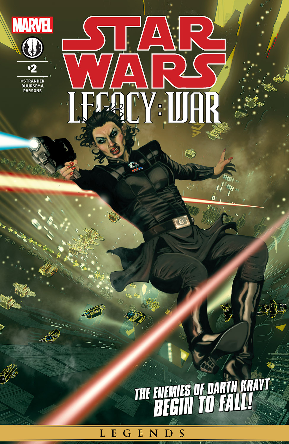 Star Wars: Legacy - War (2010) #2