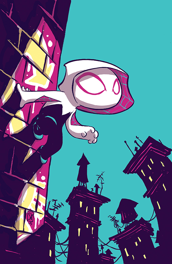 Spider-Gwen (2015) #1 (Young Variant)