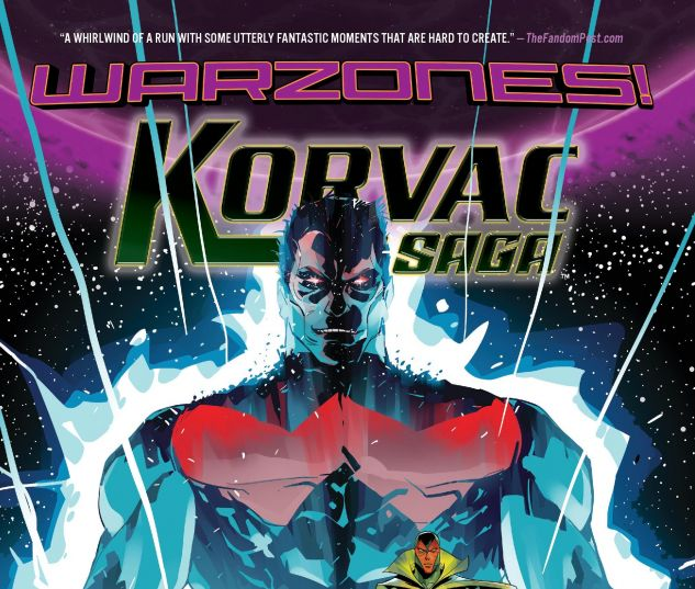 cover from Korvac Saga: Warzones! (2015)