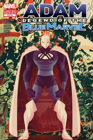 Adam: Legend of the Blue Marvel (2008) #3