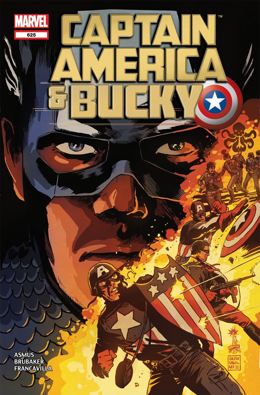 Captain America and Bucky (2011) #625
