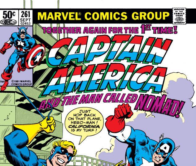 Captain America (1968) #261