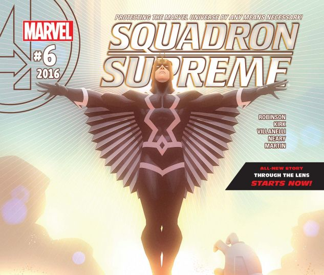 cover from Squadron Supreme (2015) #6