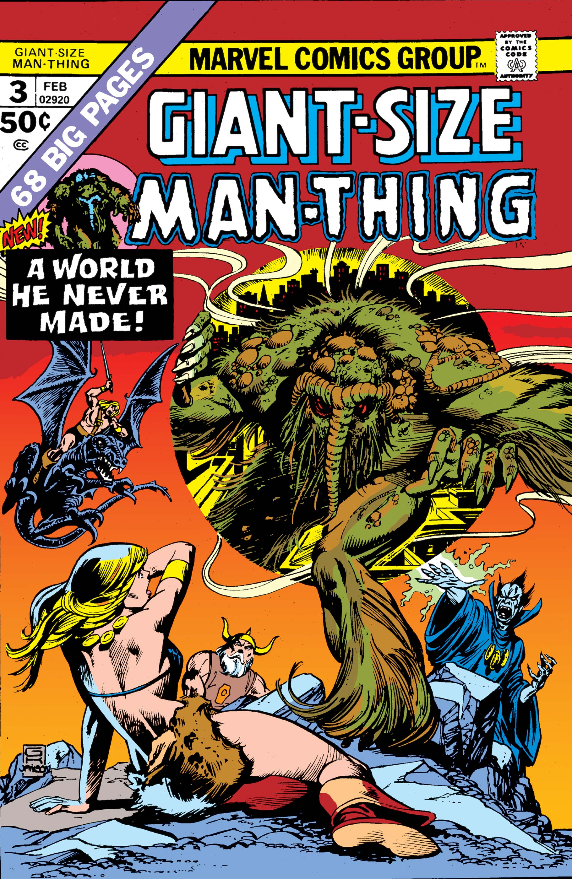 Giant-Size Man-Thing (1974) #3