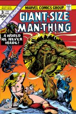 Giant-Size Man-Thing (1974) #3 cover
