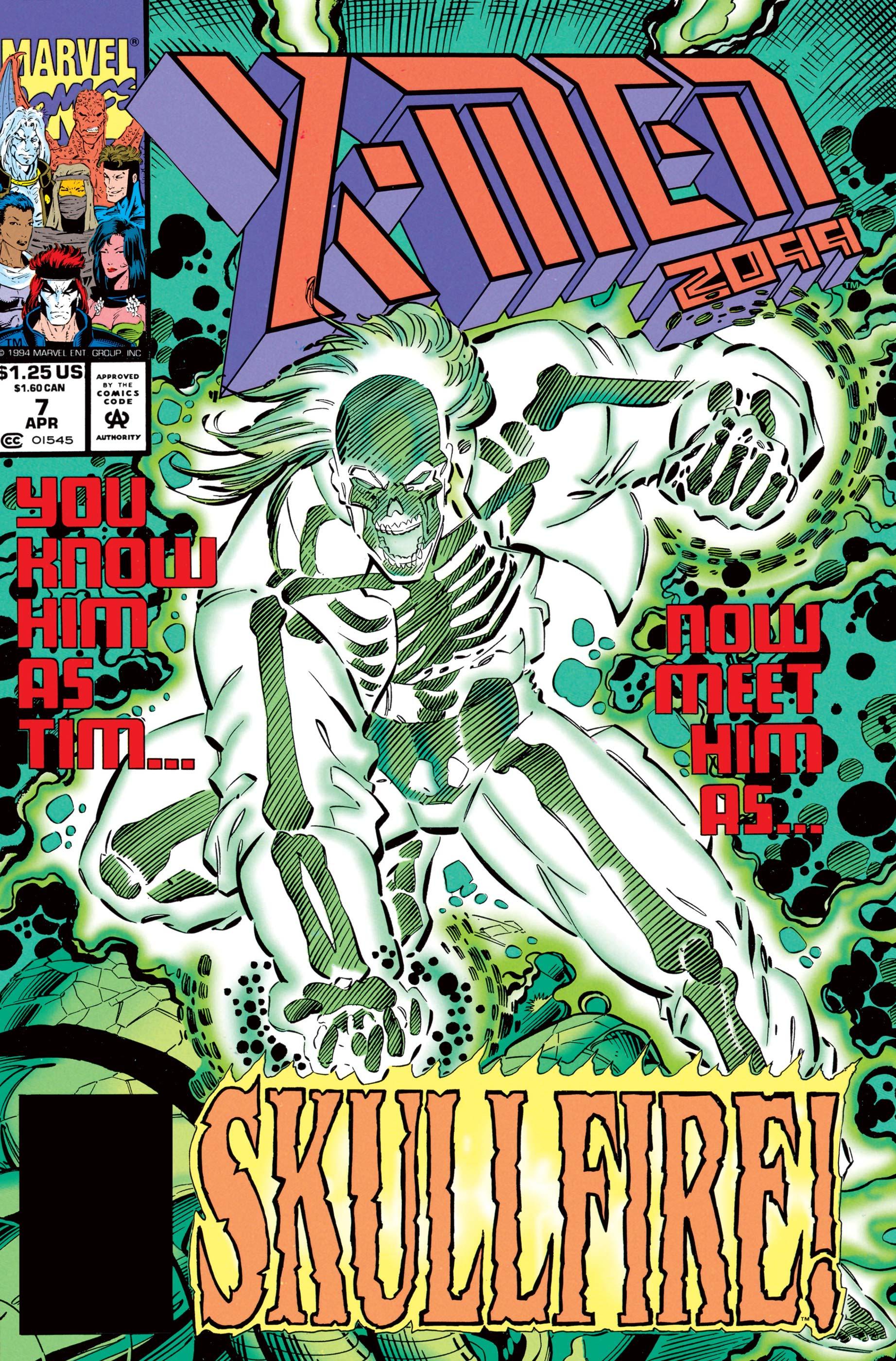 X-Men 2099 (1993) #7