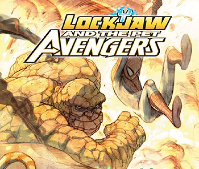 cover from Lockjaw and the Pet Avengers Infinite Comic (2017) #6