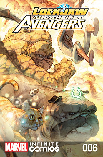 Lockjaw and the Pet Avengers (2017) #6