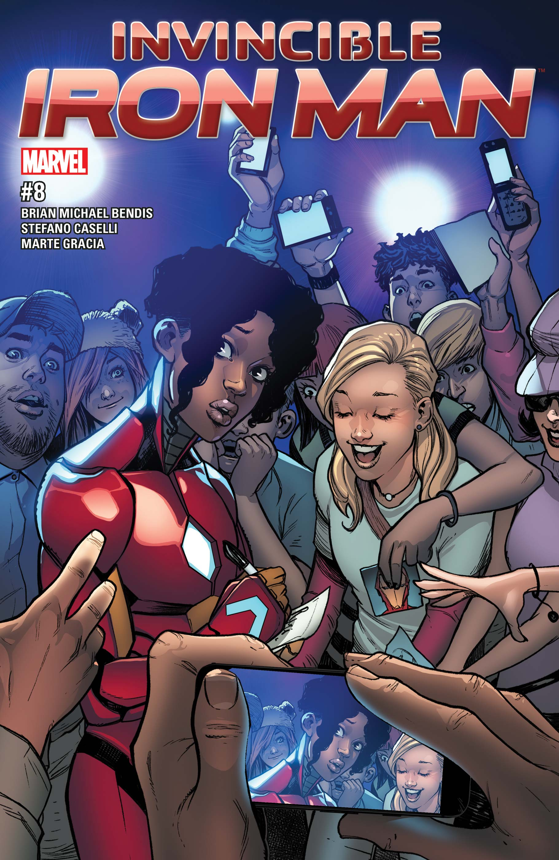 Invincible Iron Man (2016) #8