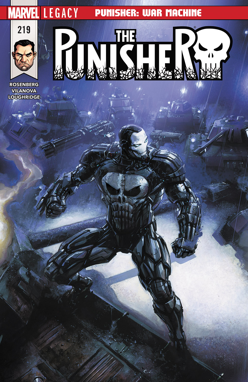 The Punisher (2016) #219