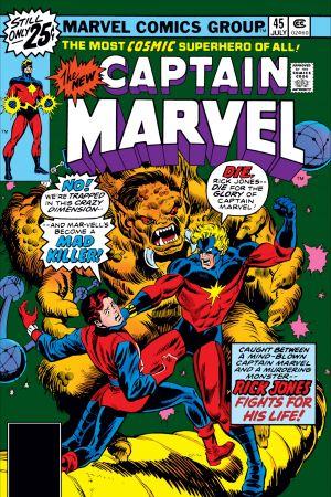 Captain Marvel #45
