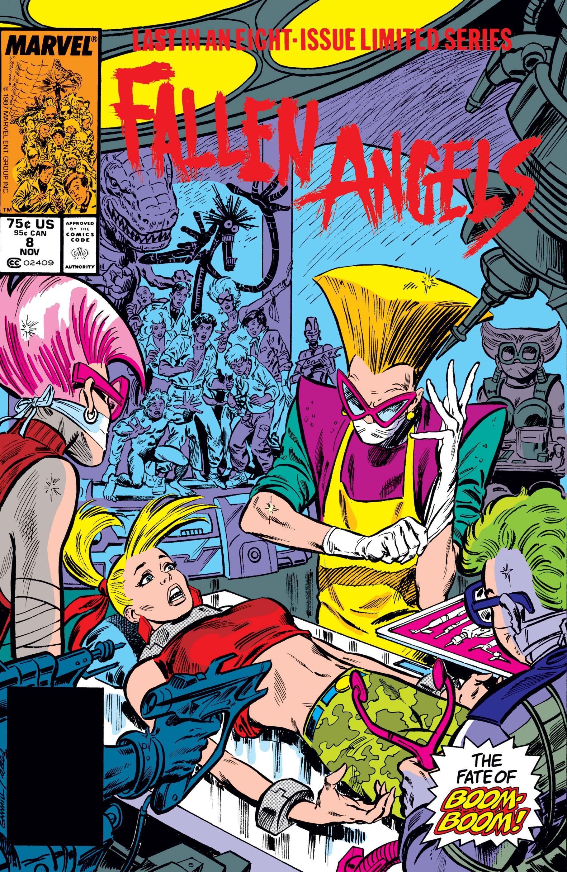 Fallen Angels (1987) #8