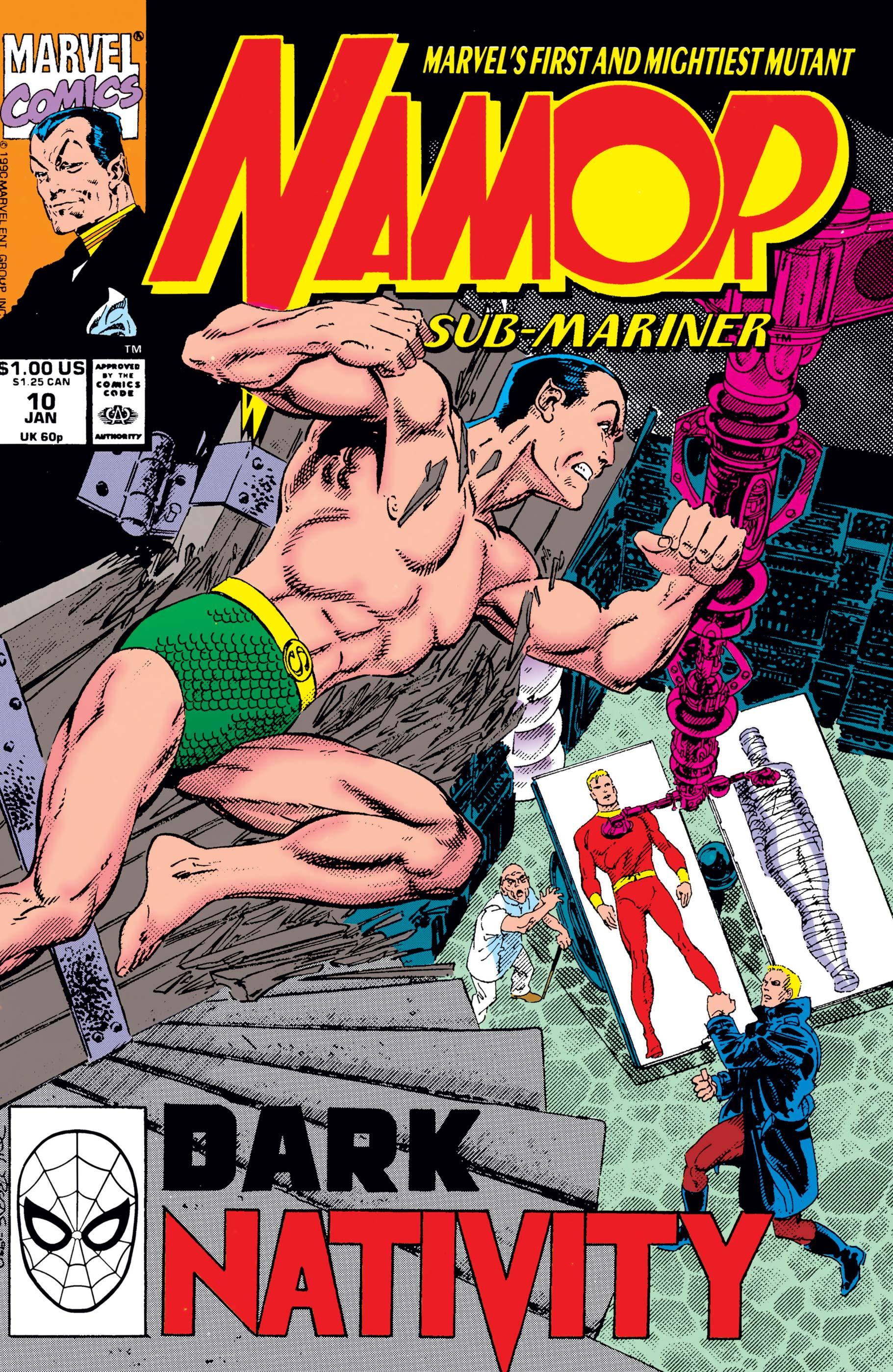 Namor: The Sub-Mariner (1990) #10